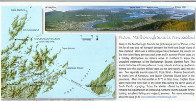 380_Picton, Malborough Sounds  Map and Explanations