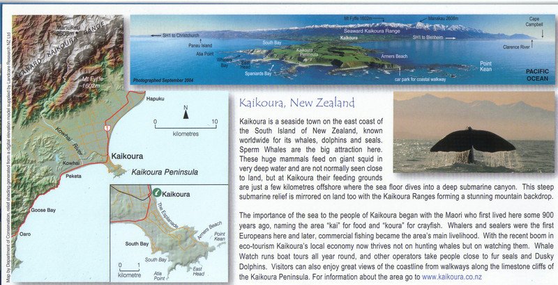 386_Kaikoura, Map and Explanations