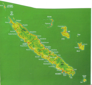 004_New Caledonia Map