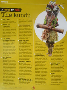011_Papua New Guinea  The Kundu (drum)  2 of 2