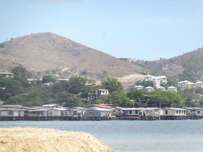 018_Port Moresby  The Water Village  Built on stilts