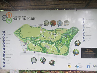 024_Port Moresby  Nature Park  Map