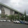 020_Port Moresby  National Parlement House  Built like a Sepik Manhouse  1 of 2