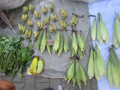 147_Madang  Town Market  Corn  3 for 1 Kuna ($0 40CND)
