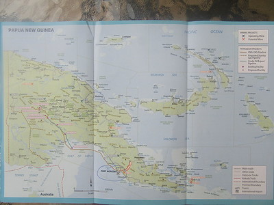 012_Port Moresby  Map