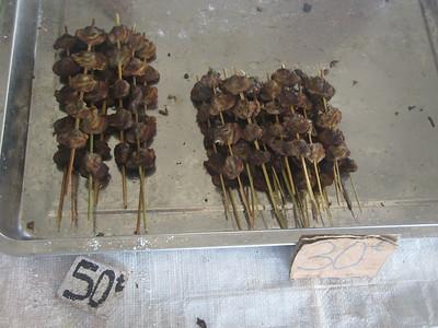 135_Madang  Town Market  Shells sticks