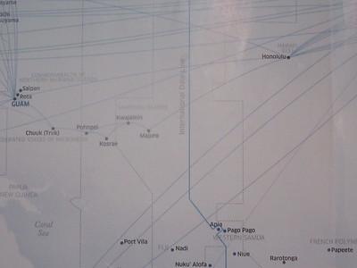009_Pacific Ocean  Marshall Islands  We crossed the International Date Line