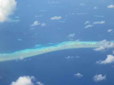 016_Marshall Islands  Majuro Atoll  Sometimes no wider than an airfield strip