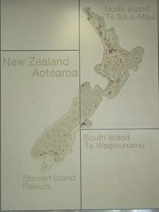 008_New Zealand  Map