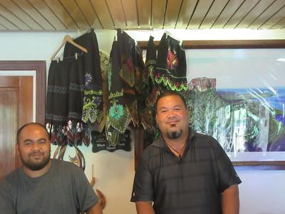 042_Pohnpei  Kolonia Town  7 Stars Hotel  Staff