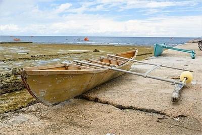 015_Nauru  Outrigger Canoe  For fishing