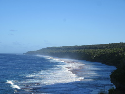 011_Niue  Western Side  Scenic Matavai Resort  Spectacular steep limestone cliffs along the coast