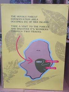 027_Niue  Western Side  Alofi Town Center  Visitor Information Center  Huvalu Forest Conservation Area  2 of 3