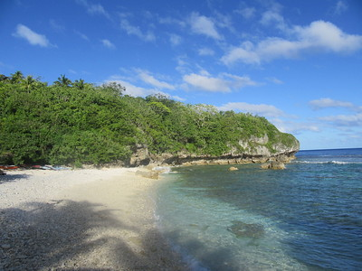 016_Niue  Western Side  Avatele Bay  The largest and most well known beach on the island