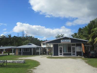 023_Niue  Western Side  Alofi Town Center  Police Station