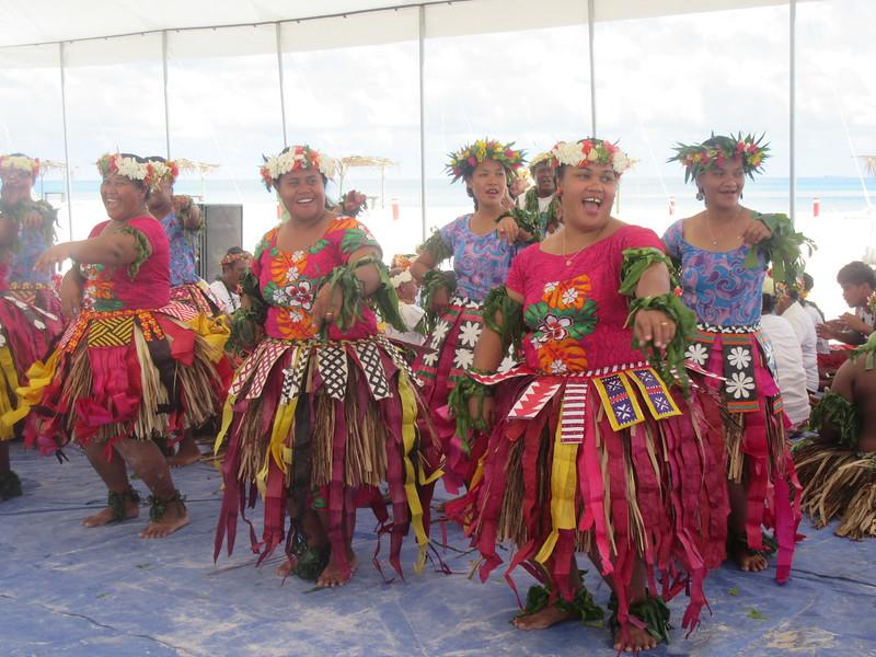022_Funafuti  Community Hall (Falekaupule)  Traditional dance