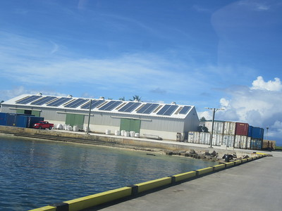 037_Funafuti Conservation Area  Solar energy  Tuvalu aims to be Electricity autonomous by 2020