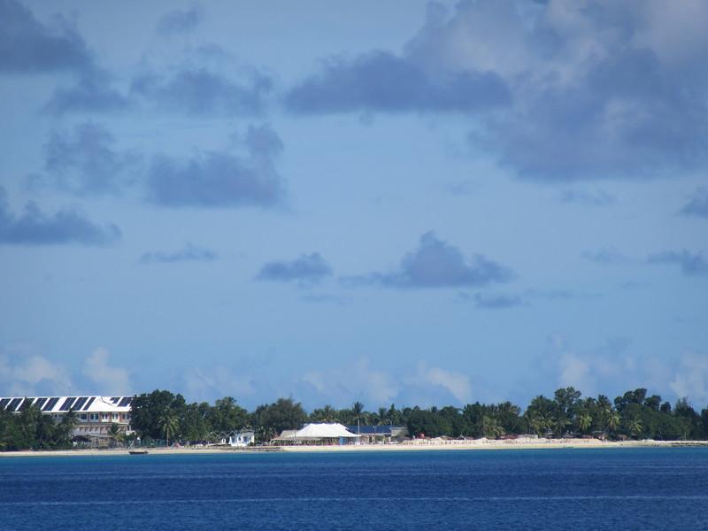 032_Funafuti Conservation Area  Our Hotel (left)