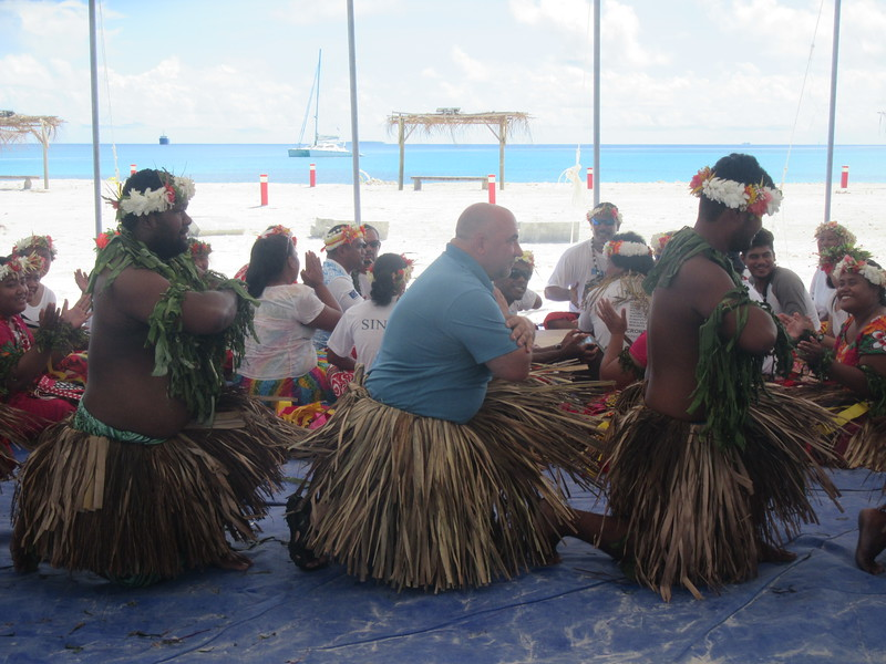 028_Funafuti  Community Hall (Falekaupule)  Traditional dance  JDP