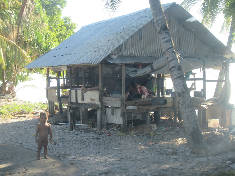 044_Funafuti Conservation Area  Traditional House and Resting Platform