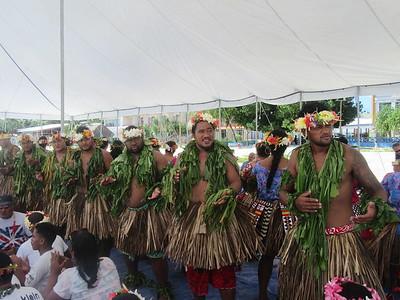 023_Funafuti  Community Hall (Falekaupule)  Traditional dance