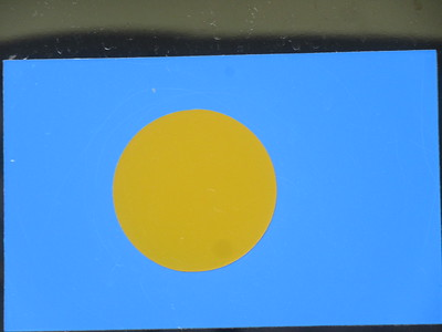 017_Palau Flag  Became an independent nation in 1994  They spell Palau ' Belau'  Part 1 of 2