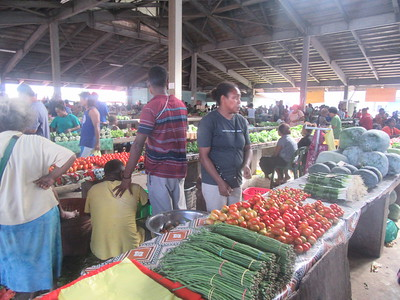 019_Guadalcanal Island  Honiara Central Market  Busy and Colourful  Part 1 of 10