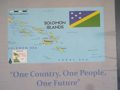010_Solomon Islands  Population 624,000  Very much linked to the land and surrounding seas