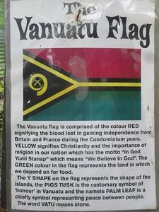 012_Vanuatu Islands  Flag