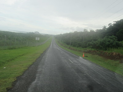 012_Upolu Island  Road from the Airport to Apia  35 km