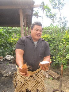 024_Ancient Tonga village  Traditional methods of obtaining coconut milk  Part 2 of 5