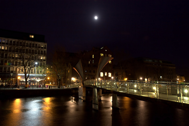 Bristol city centre docks