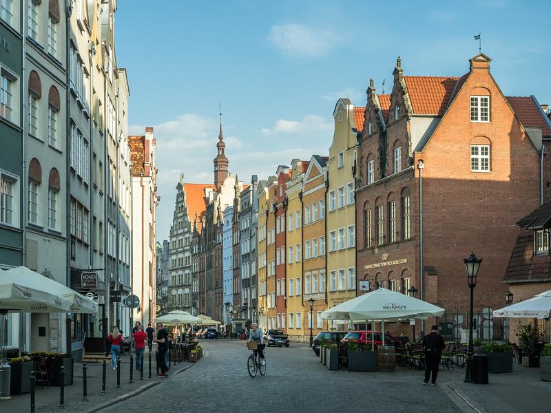 Late Afternoon on Chlebnicka, Gdańsk, Poland