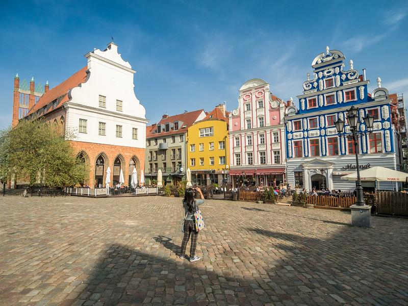 Photos on the Rynek, Szczecin, Poland