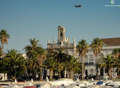 Landing in Portugal