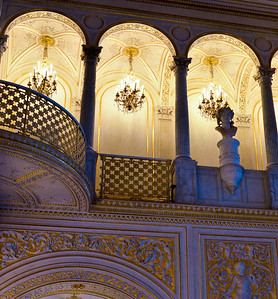Chandeliers at the Hermitage