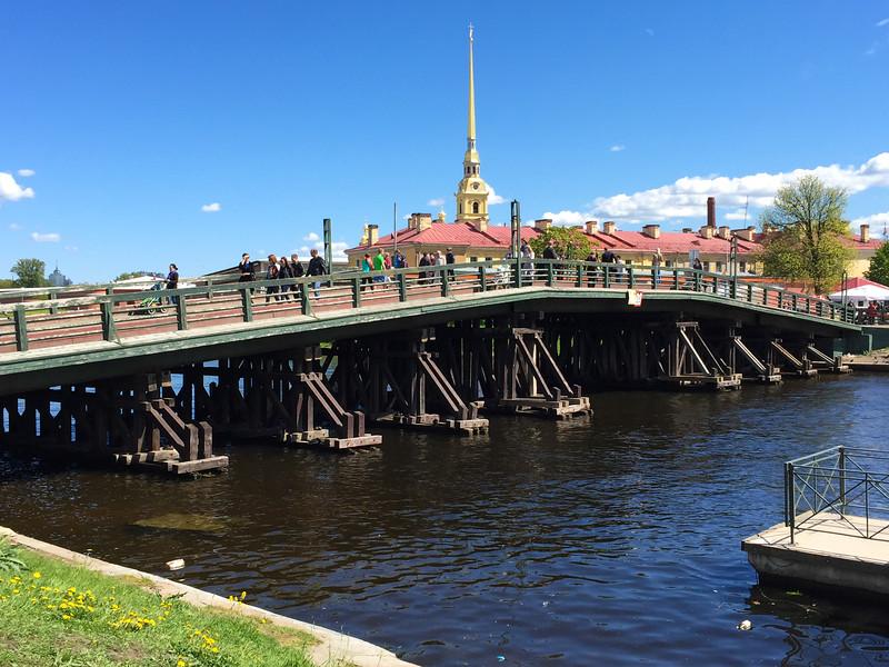 Bridge to Military fortress