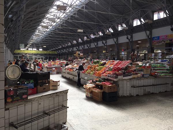 Sunday morning at the Market