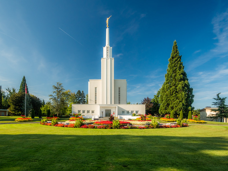 The Mormon Swiss Temple, Zollikofen, Switzerland