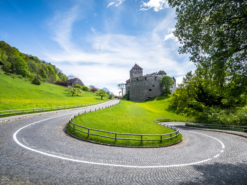 Around the Bend, Vaduz, Liechtenstein