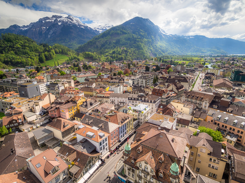 Interlaken Panorama, Switzerland