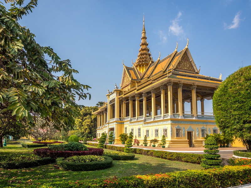 The Moonlight Pavilion, Royal Palace, Phnom Penh, Cambodia