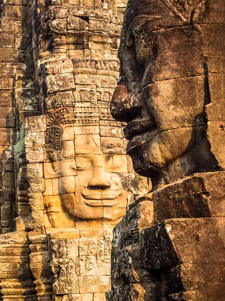 Face to Face, Bayon, Angkor, Cambodia