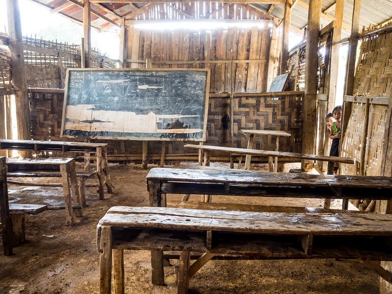 Village Schoolroom, Kalong Kong, Laos