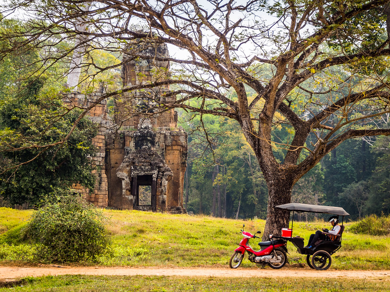 Rest among the Ruins, Suor Proat, Angkor, Cambodia