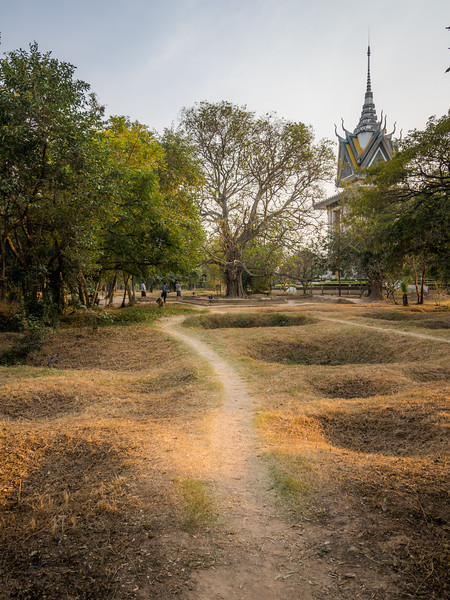 Grave Pits, Killing Fields, Choeung Ek, Cambodia