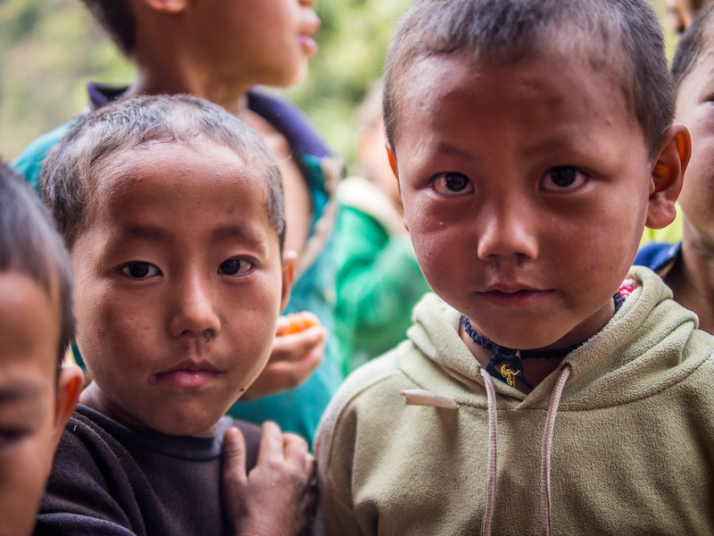Village Faces, Kalong Kong, Laos