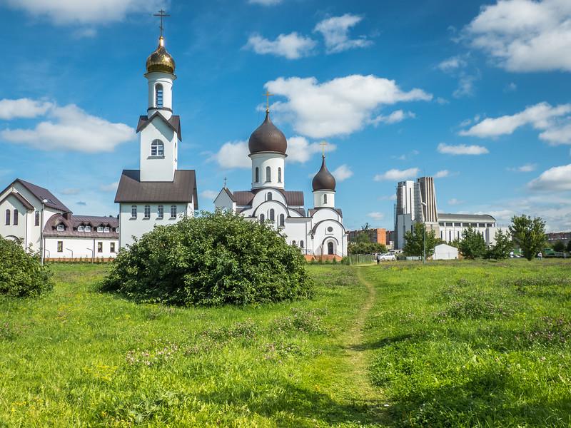 Path to Orthodox Church, Klaipėda, Lithuania