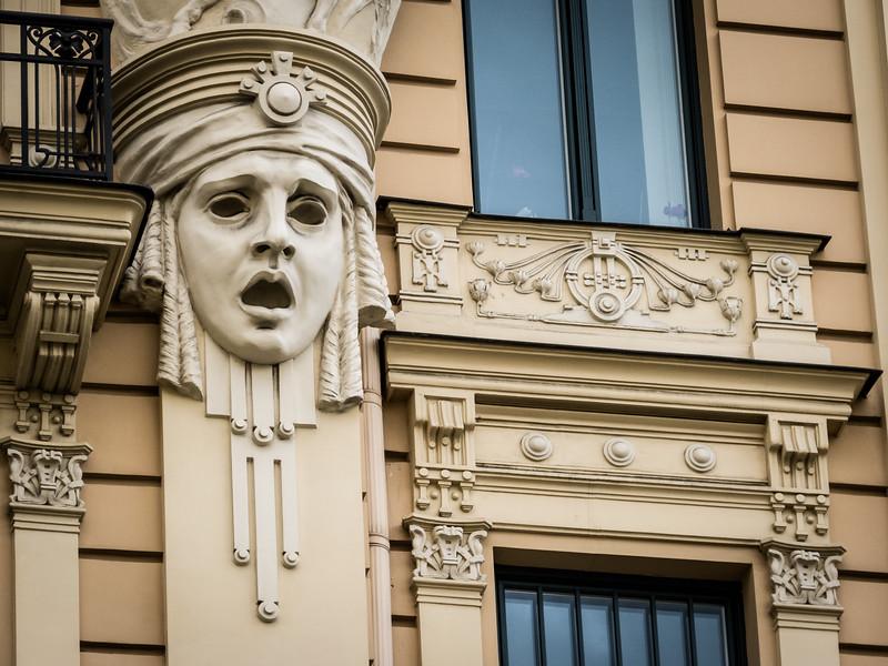 Façade's Façade, Riga, Latvia