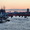 London Bridge and HMS Belfast